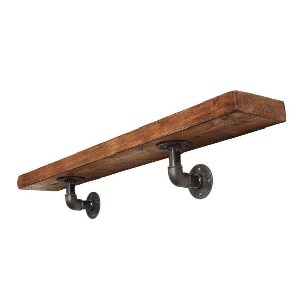 Reclaimed-timber-shelf-on-iron-tee-nut-brackets