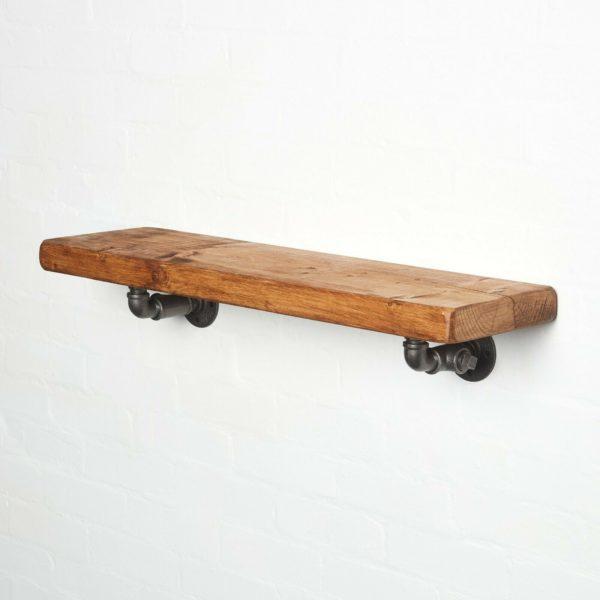 Pipework-Shelving-Bracket-with-shelfs