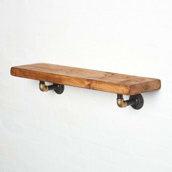 RECLAIMED-Timber-Shelf-Black-Brass-Elbow-Brackets